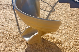 Playground Yellow Slide